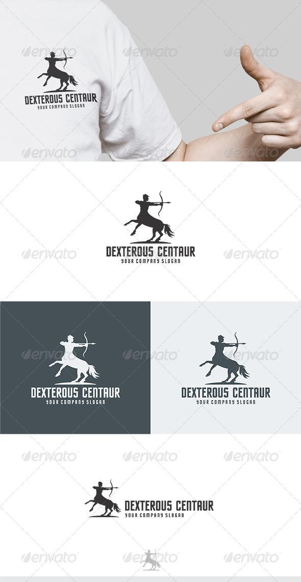 Dexterous Centaur Logo - Humans Logo Templates