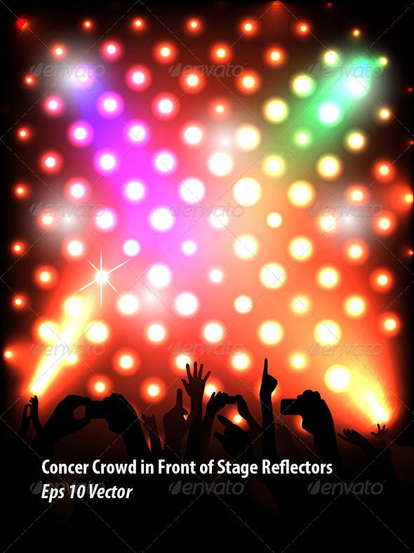 GraphicRiver Concert Crowd 5787768