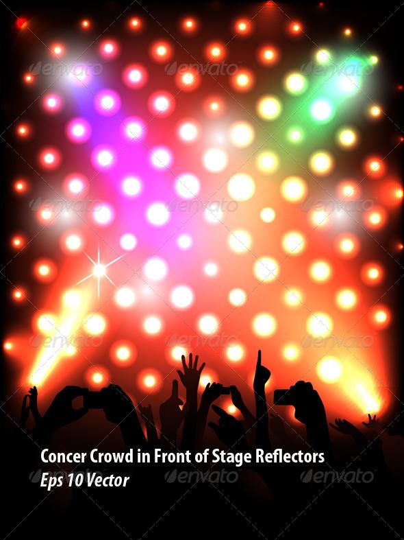 GraphicRiver Concert Crowd 5787768