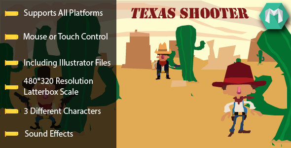 CodeCanyon Texas Shooter 5787805