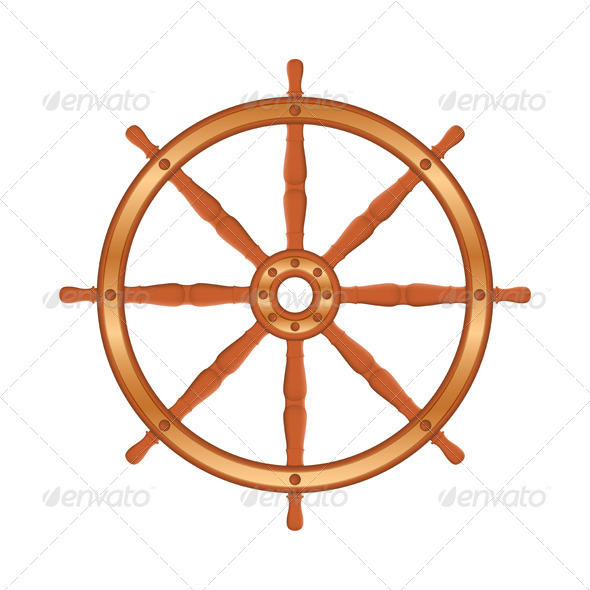 GraphicRiver Ship Wheel 5788240