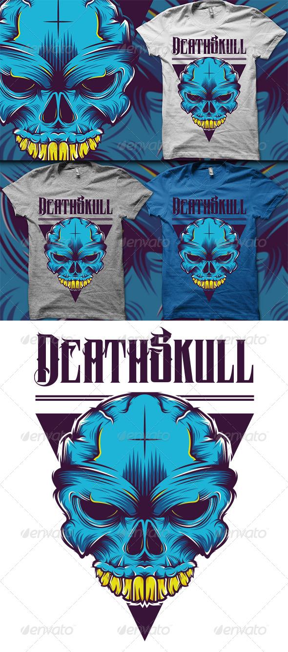 GraphicRiver Skull T-Shirt 5788849