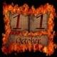 Burning wooden calendar October 11. - PhotoDune Item for Sale
