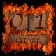 Burning wooden calendar October 1. - PhotoDune Item for Sale