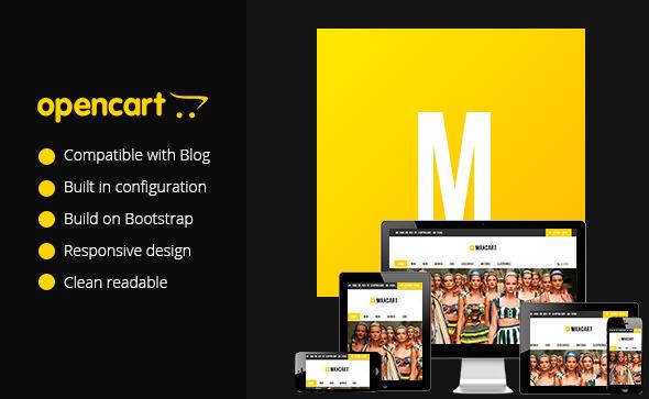 ThemeForest Maxcart Responsive Opencart Theme 5789292