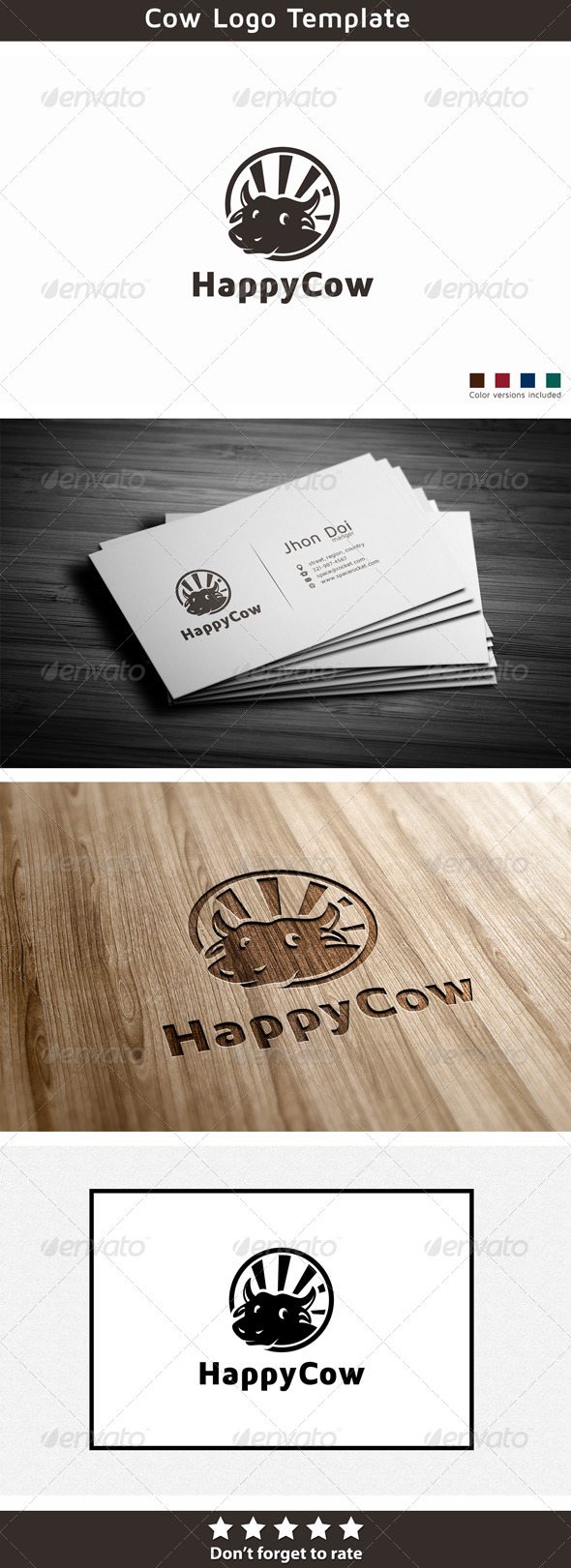 GraphicRiver Happy Cow 5789502