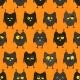 Halloween Owl Seamless Background. - GraphicRiver Item for Sale