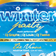 Winter Party 2 | Flyer Template - GraphicRiver Item for Sale