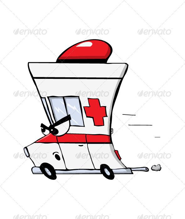 GraphicRiver Ambulance 5791430
