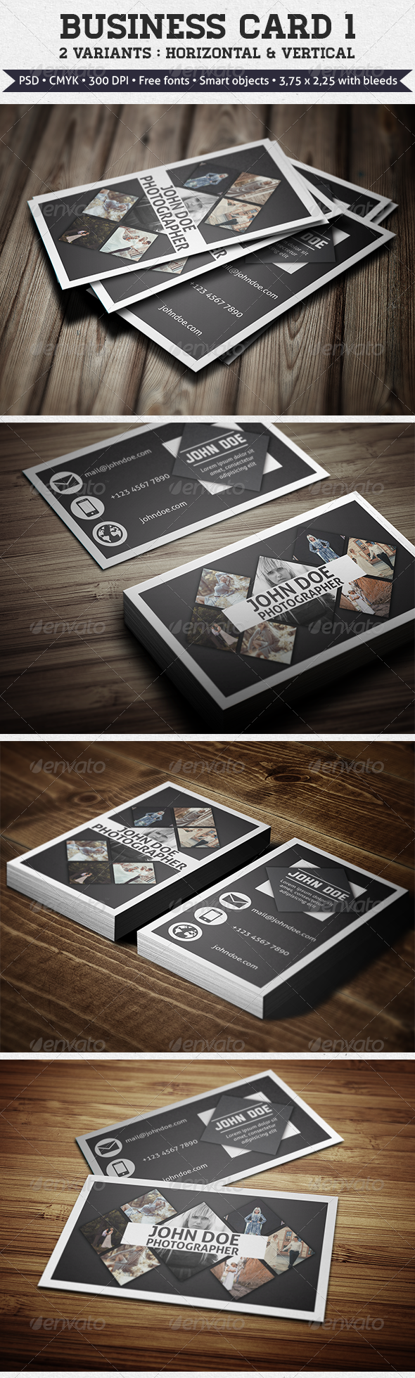 GraphicRiver Business Card 1 5791437