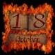 Burning wooden calendar October 18. - PhotoDune Item for Sale
