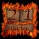 Burning wooden calendar October 21. - PhotoDune Item for Sale
