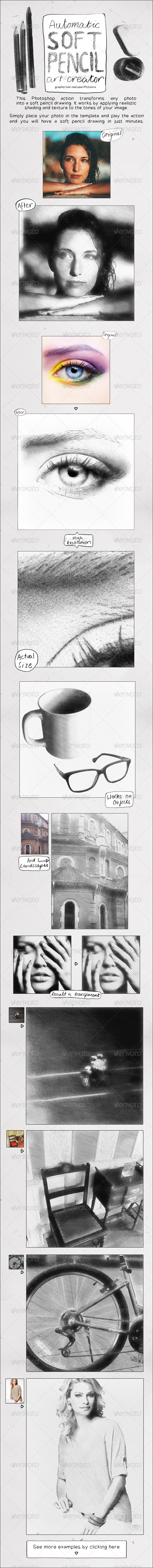 GraphicRiver Soft Pencil Drawing Action 5792282