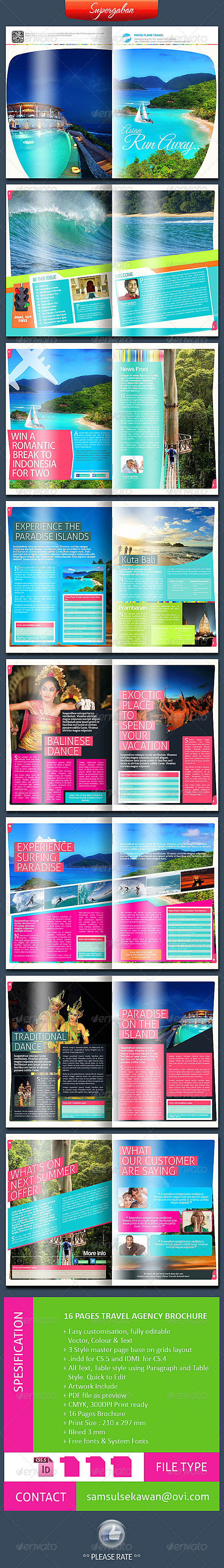 GraphicRiver Travel Agency 5616737