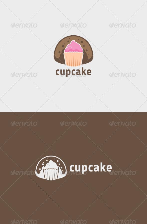 GraphicRiver Cupcake Logo 5795735