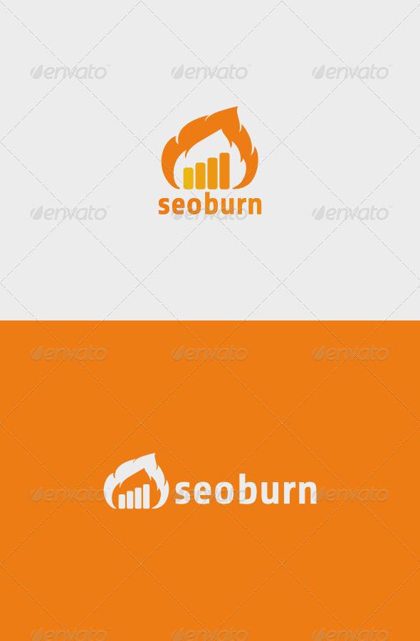 GraphicRiver Seo Burn Logo 5796131
