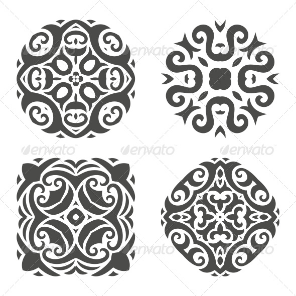 GraphicRiver Abstract Mehndi Ornament Vector Illustration 5797029