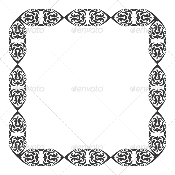 GraphicRiver Abstract Ornament Frame 5797068