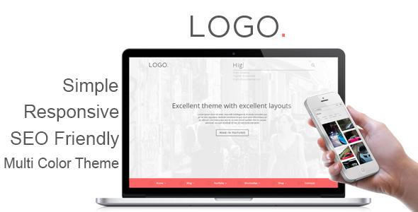 ThemeForest LOGO Responsive HTML5 Template 5764734