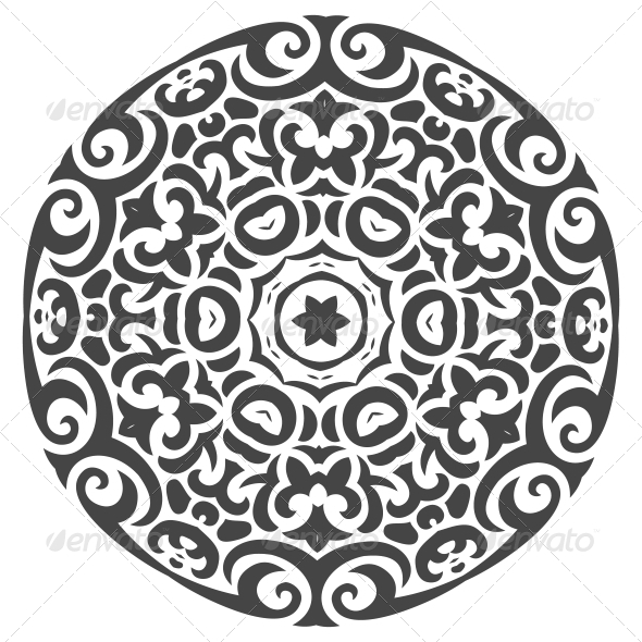 GraphicRiver Abstract Vector Ornament in Tribal Style 5797331