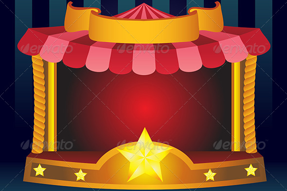 GraphicRiver Circus Background 5797412