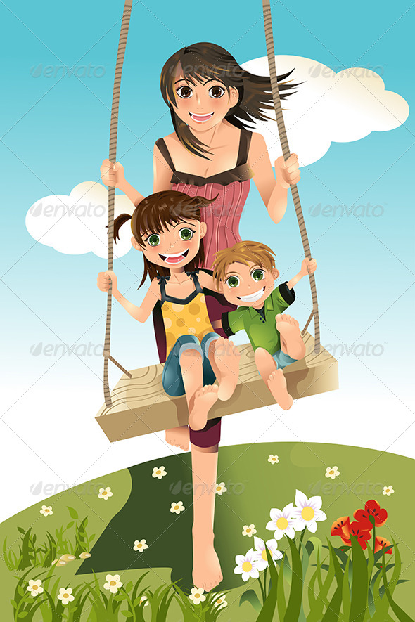 GraphicRiver Brother and Sisters 5798170
