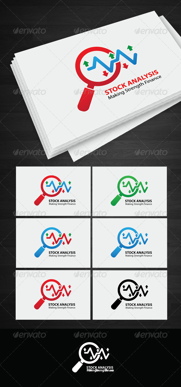 GraphicRiver Stock Analysis logo 5780114