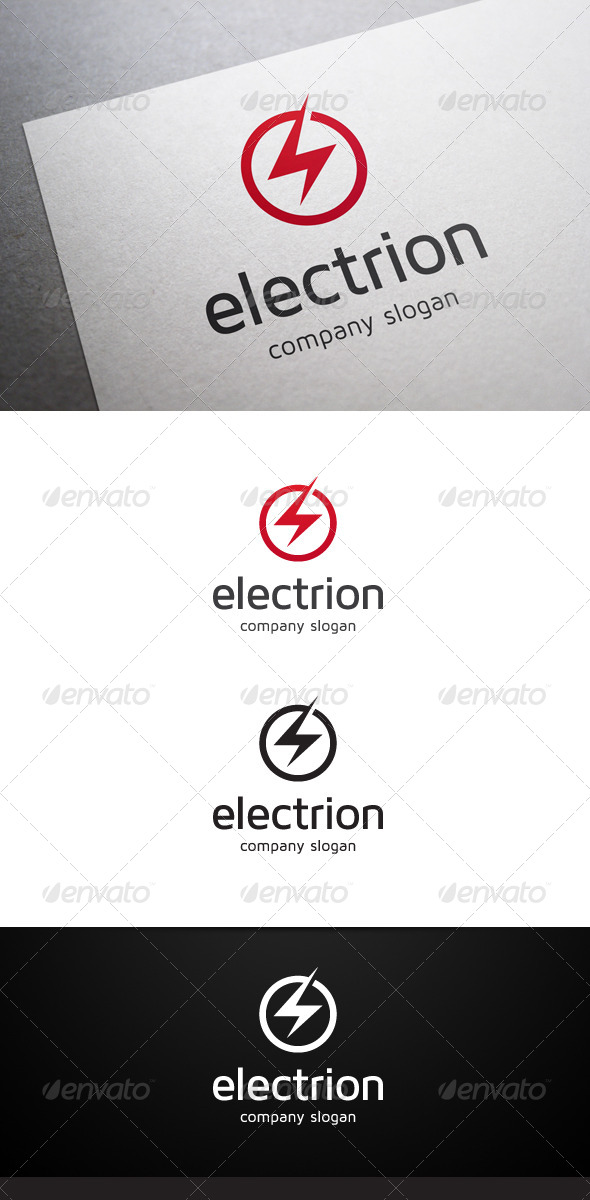 GraphicRiver Electrion Logo 5798420