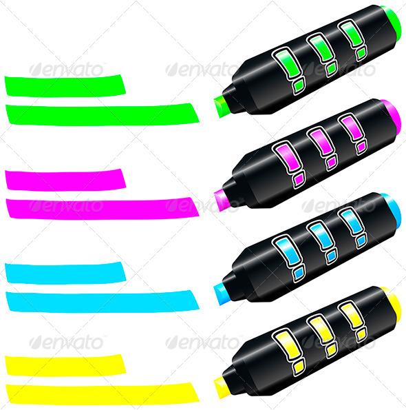GraphicRiver Fluorescent Marker 5757967