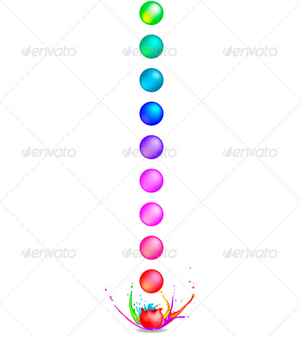 GraphicRiver Paintballs 5766592