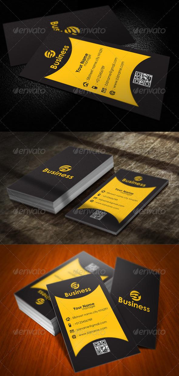 GraphicRiver Professional Card Design 5685904