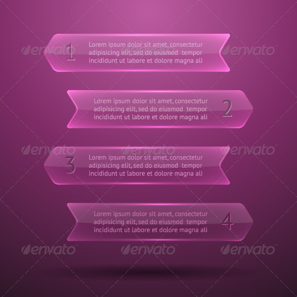 GraphicRiver Glass Elements of Infographics 5799526
