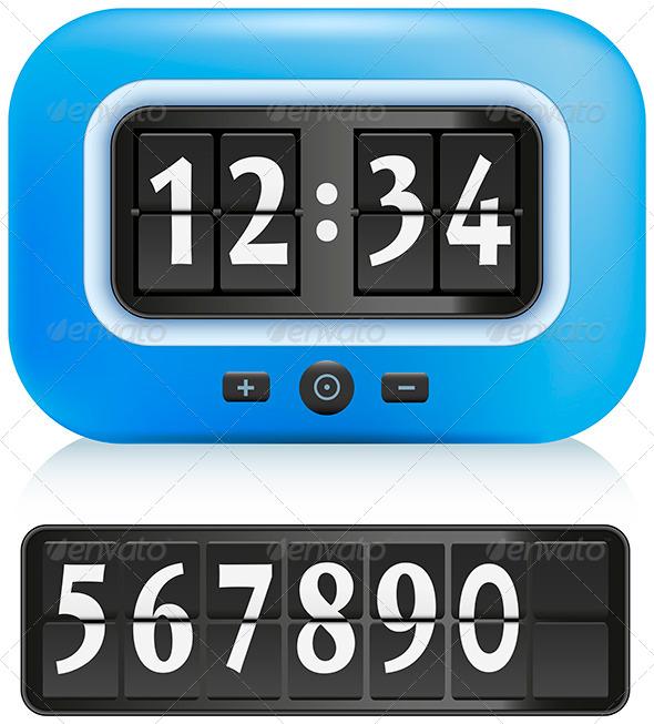 GraphicRiver Alarm Clock 5799594