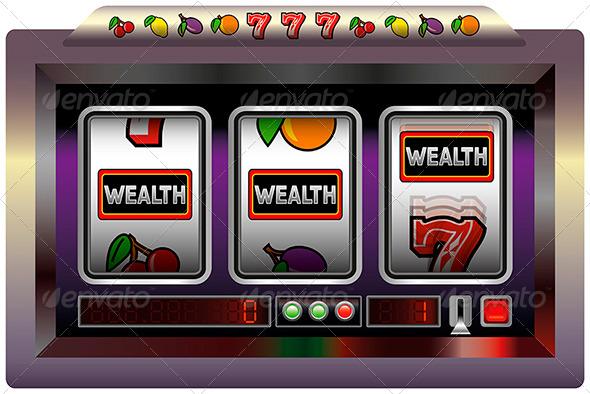GraphicRiver Slot Machine Wealth 5756446