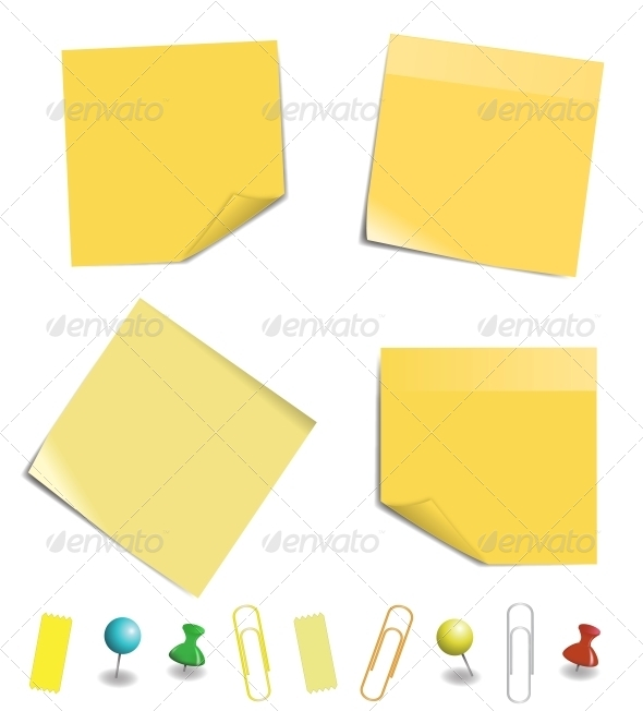 GraphicRiver Sticky Note Paper 5799693