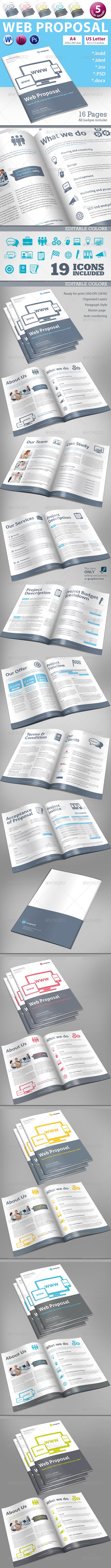 GraphicRiver Web Design Proposal Vol 1 5736632