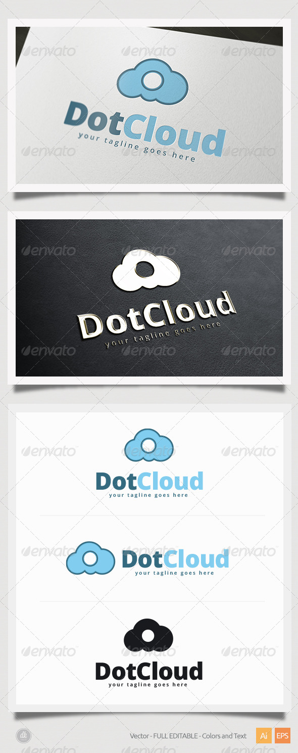 Dot Cloud Logo