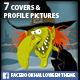 HALLOWEEN Facebook Themes - GraphicRiver Item for Sale