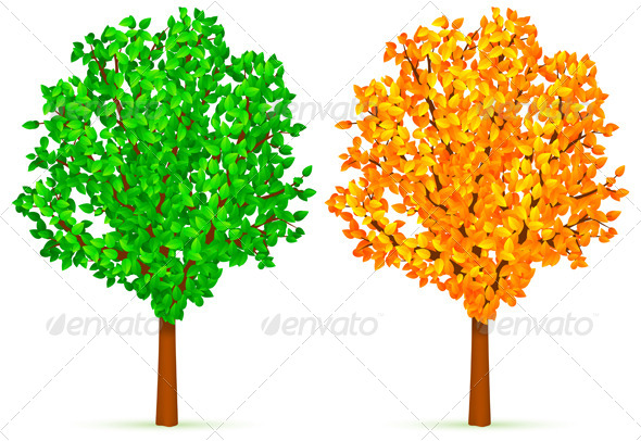 GraphicRiver Two Trees 5800409