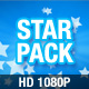 Star Pack (loop) - HD1080P - VideoHive Item for Sale