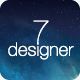 De7igner - Flat iOS7 Inspired Coming Soon Template - ThemeForest Item for Sale