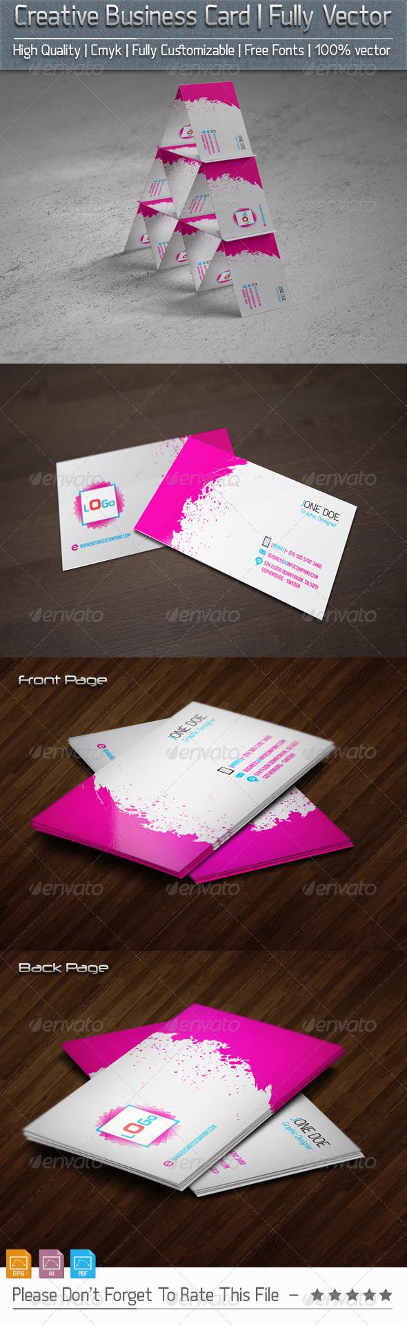 GraphicRiver Creative Business Card v2 5800970