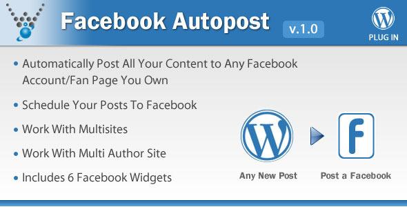 CodeCanyon Facebook Autopost WordPress Plugin 5754169