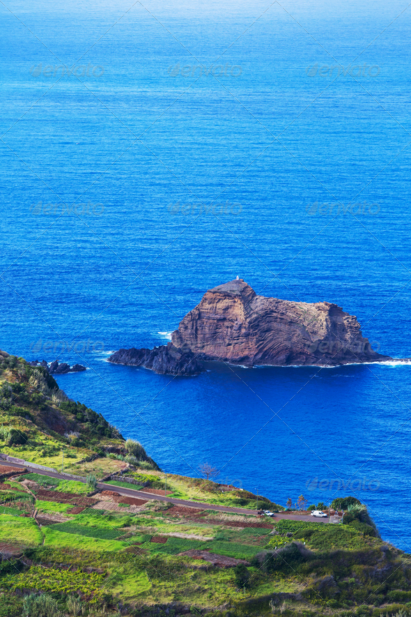 Madeira coast - Stock Photo - Images