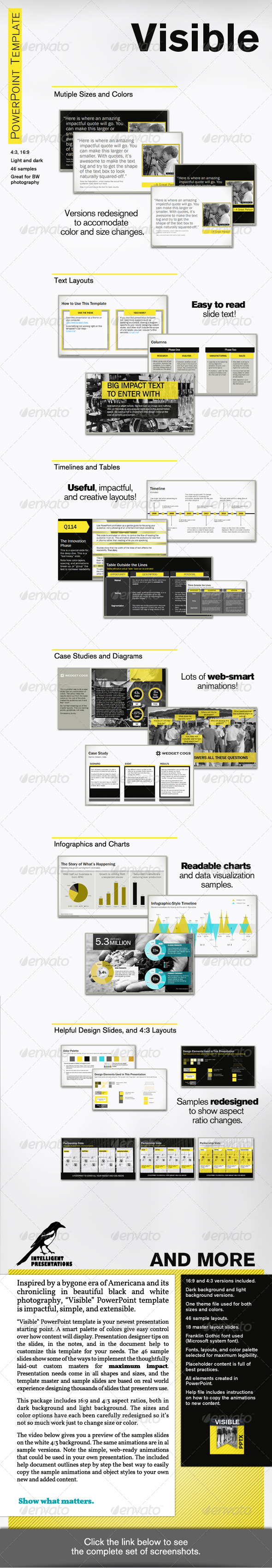 GraphicRiver Visible PowerPoint Template 5745005