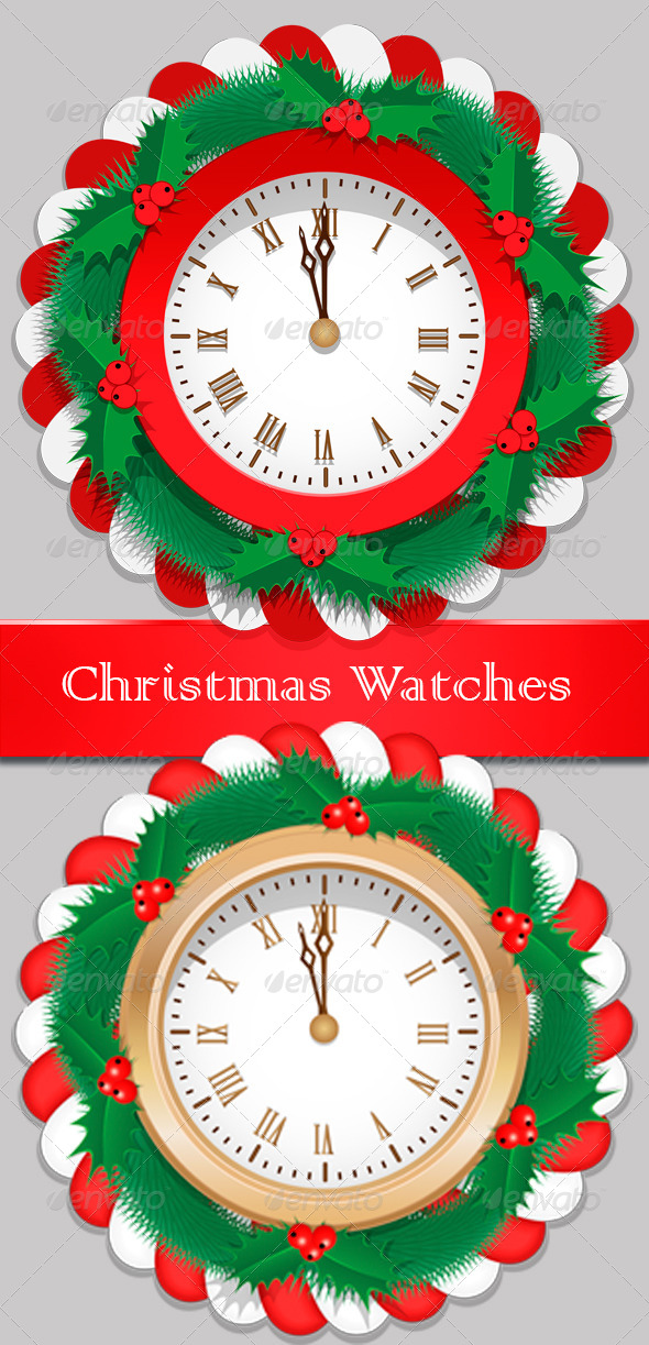 GraphicRiver Christmas Watch 5771163