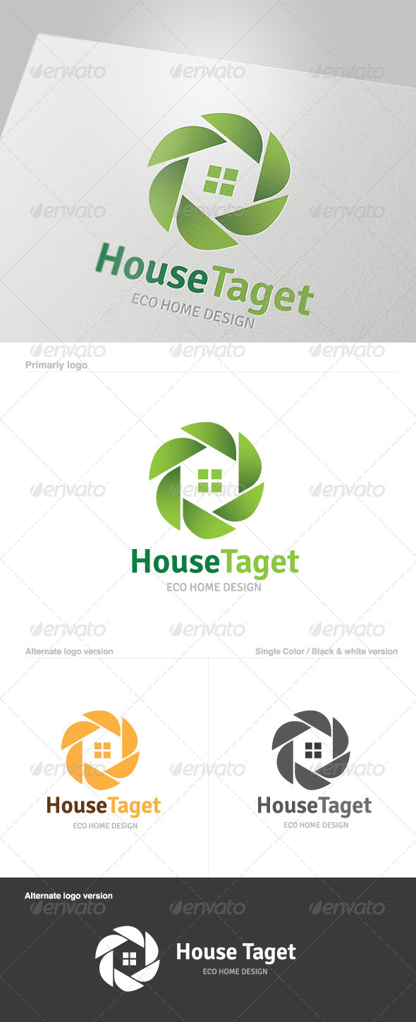 GraphicRiver House Target Logo 5801963
