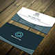 White Blue Visiting Card - GraphicRiver Item for Sale
