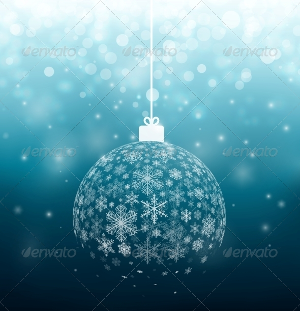 GraphicRiver Ball from Snowflakes 5802666