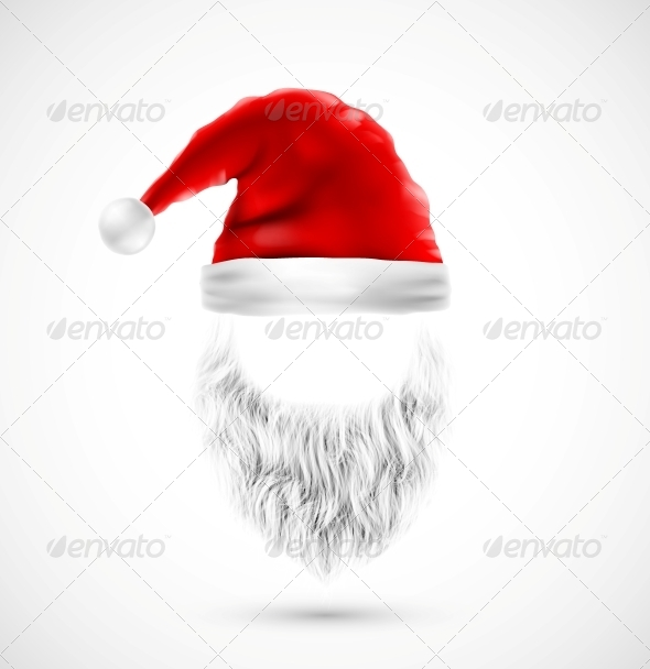 GraphicRiver Accessories Santa Claus 5802681